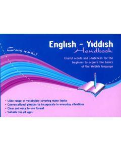 English-Yiddish Handbook