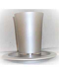 kiddush cup w/ plate