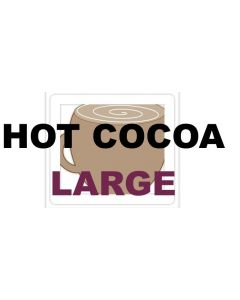 HOT COCOA LARGE COFFEE