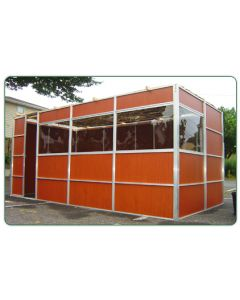 Leiters style sukkah 10x16