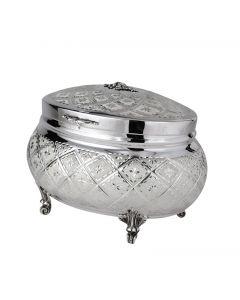 Etrog Holder - Moreshet Silver