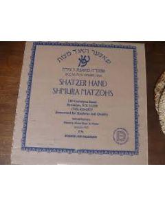 Shatzer Hand Matzah Reg