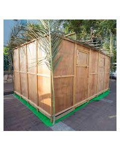 wood sukkah custom boards 2x8